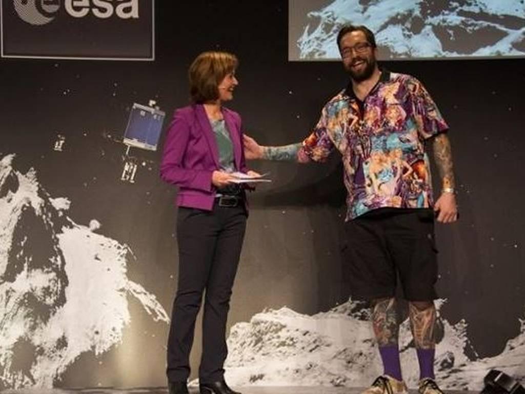 El excéntrico y tatuado científico que está detrás del proyecto Rosetta