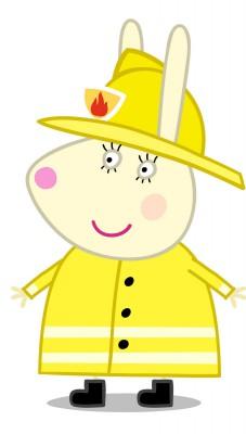 PP591 (Miss Rabbit Firefighter-RGB)