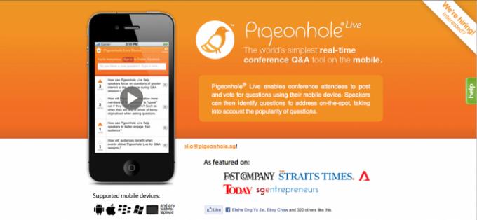 Pigeonhole call